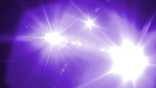Lens flare animated background