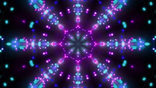 Disco háttér Kaleidoszkóp hatása