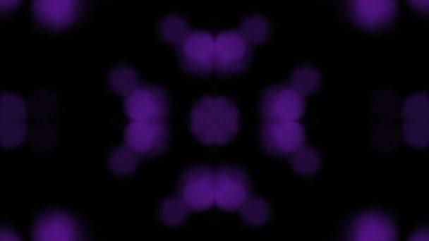 Bokeh fialové jiskry Kaleida