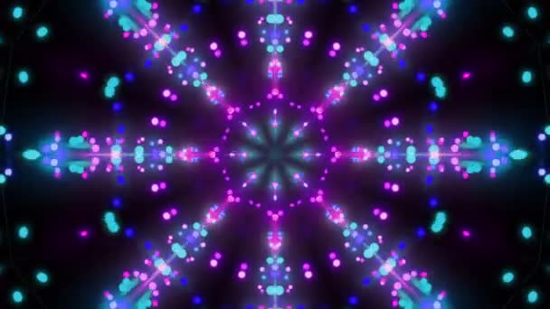 Disco background kaleidoscope effect