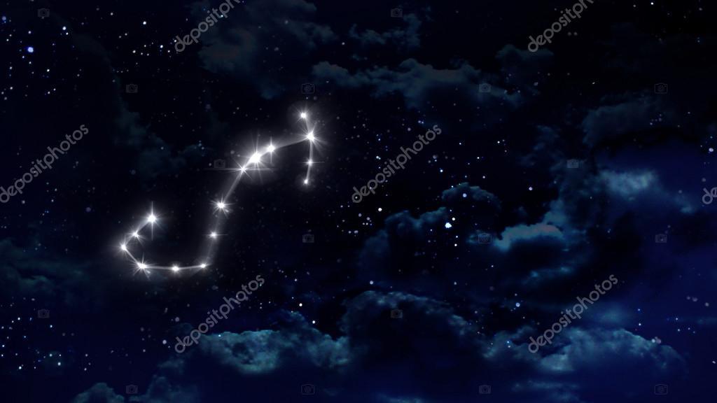 8 Scorpio Horoscope night white