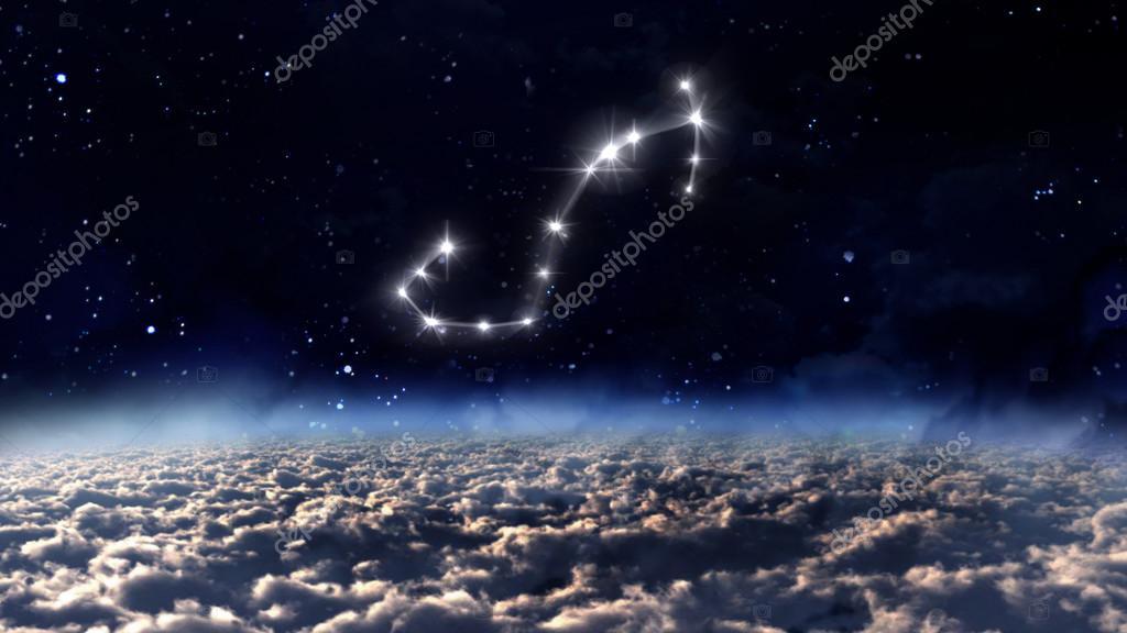 8 Scorpio Horoscope space white