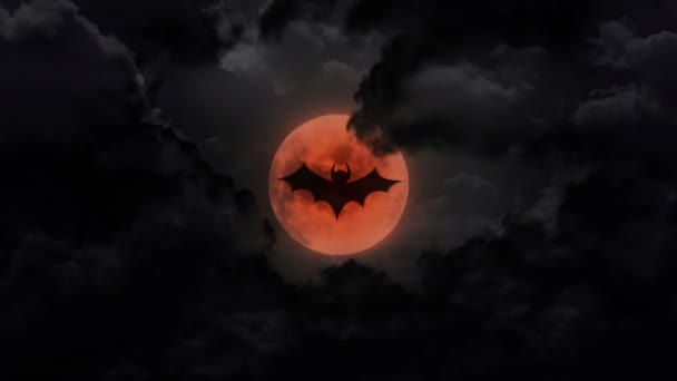 bat tmavé velké měsíc a hrom