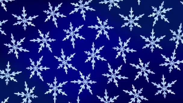 hópelyhek háttér forgatás kék hd
