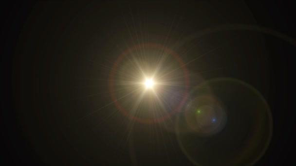 Sluneční kříž objektivu flare centrum Hd
