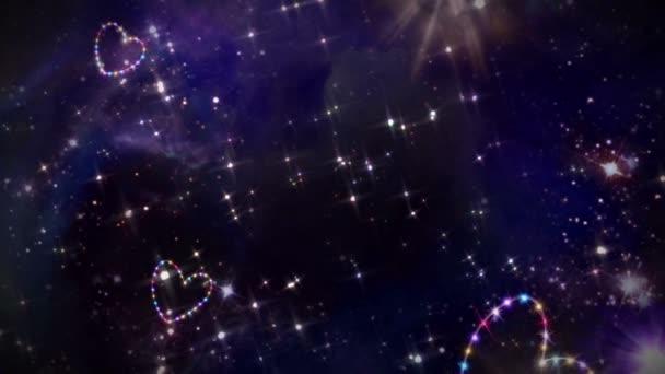srdce barevný hvězda prostor