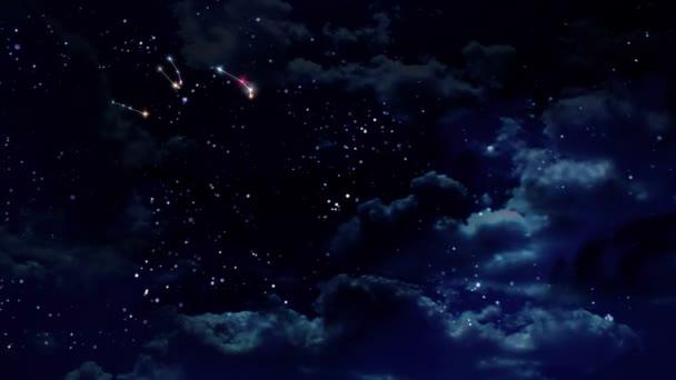 Horoskope Sternzeichen in der Nacht