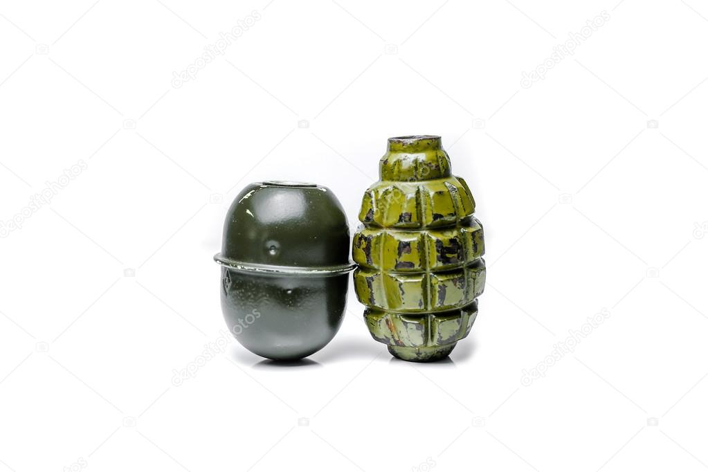 Grenade F1 explosion grenade body — Stock Photo