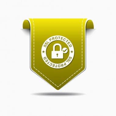 SSL Protected Icon Design