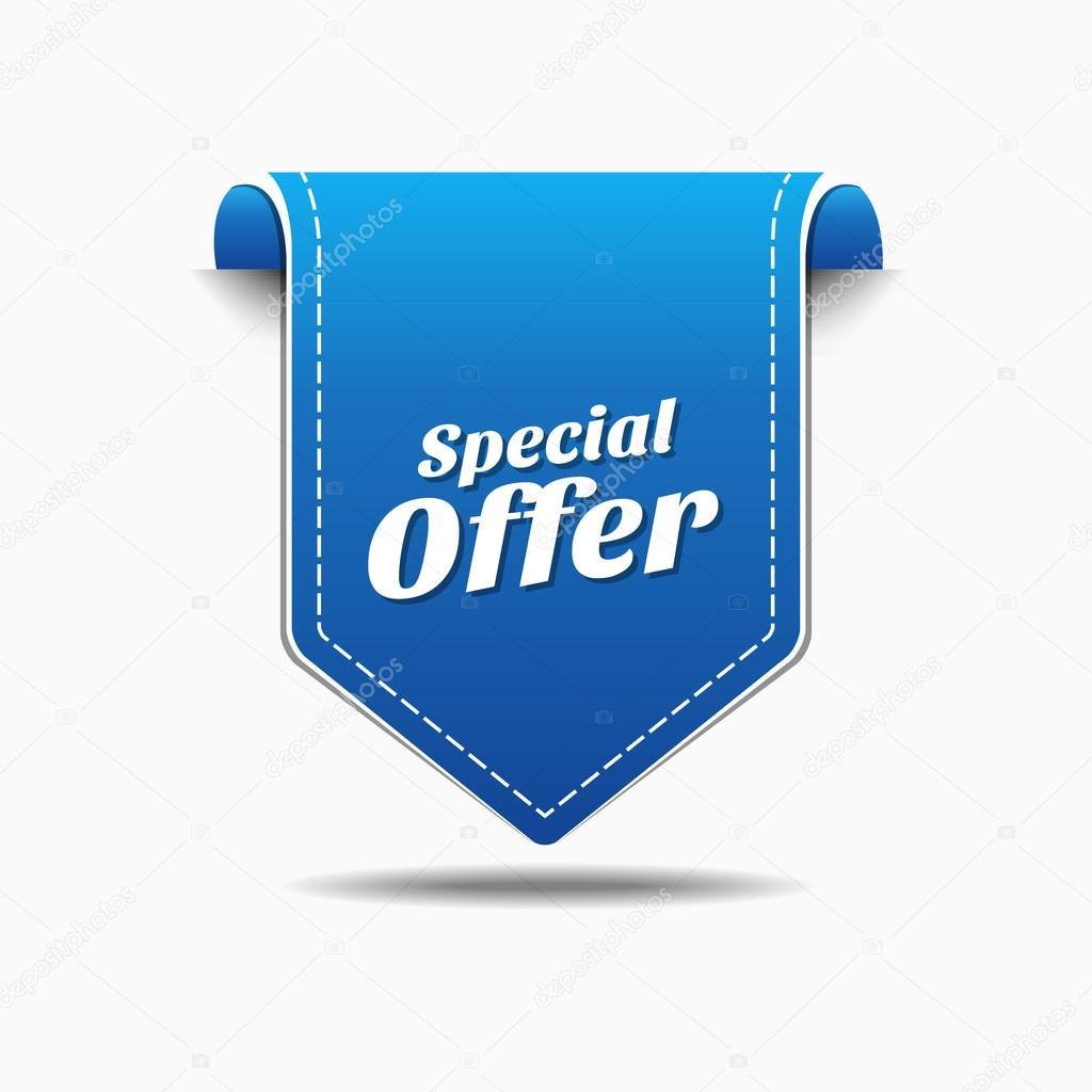 Special Offer Icon Design Stock Vector C Rizwanali3d 63384005