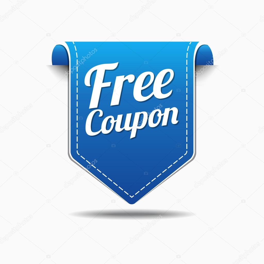 free coupon icon design stock vector rizwanali3d 63385007