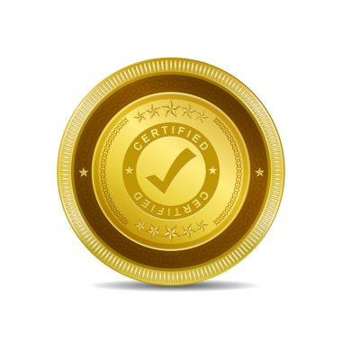 Certified Icon Button
