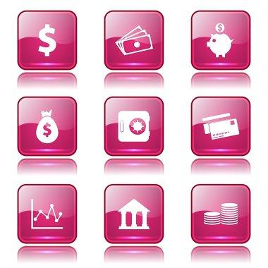 Financial Banking Icon Set