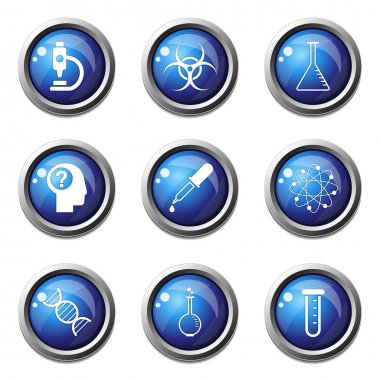 Science Instruments Icon Set
