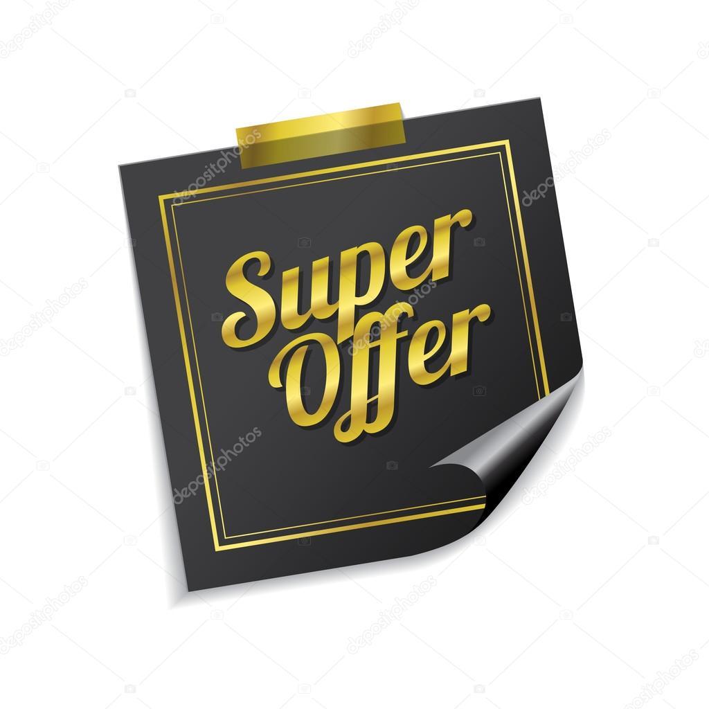 830be79ceb1f Super nabídka ikony designu — Stock Vektor © rizwanali3d  80141548