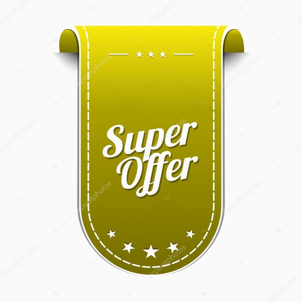 4e5ab71eb32f Super nabídka ikony designu — Stock Vektor © rizwanali3d  93355106