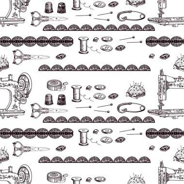 Vintage sewing accessories