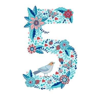 Flower number 5