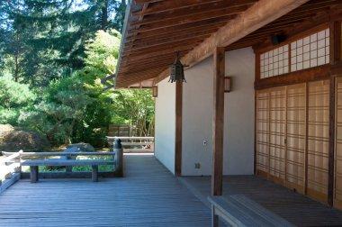 Japanese garden, building