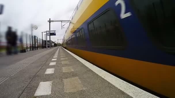 Vysoká rychlost vlaku