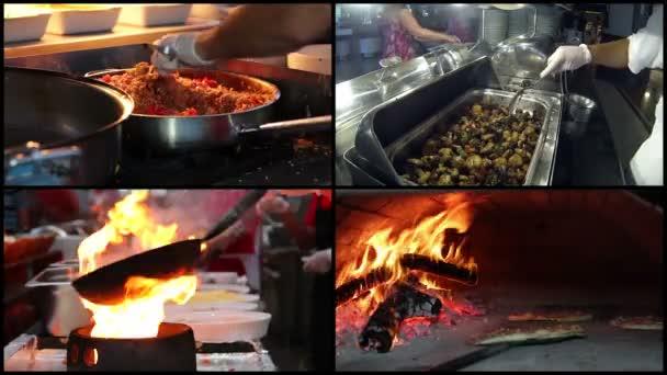 profi szakács étel