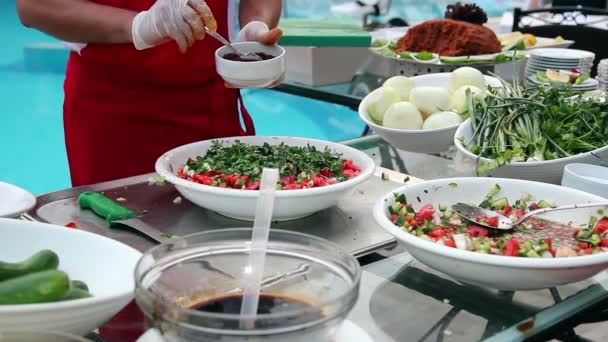 Chef-Salat machen