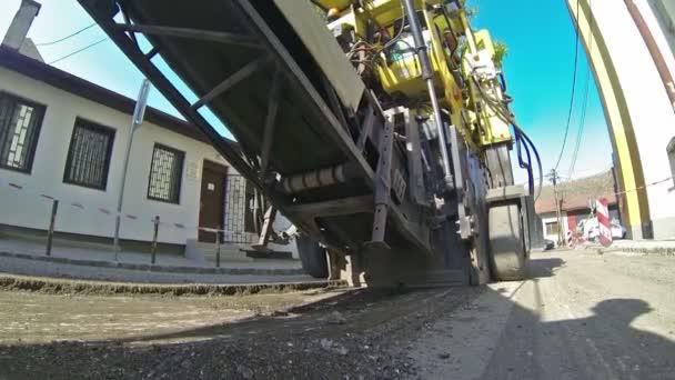 Dělníci na výstavbu silnic