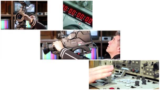 Video produkce v televizním studiu