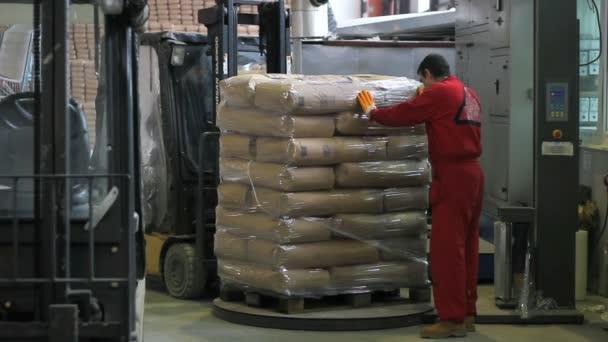 Dělníci v průmyslových objektů