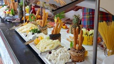 Breakfast Buffet in Luxury Restaurant