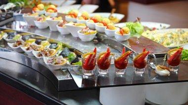 Food Buffet in Luxury Restaurant
