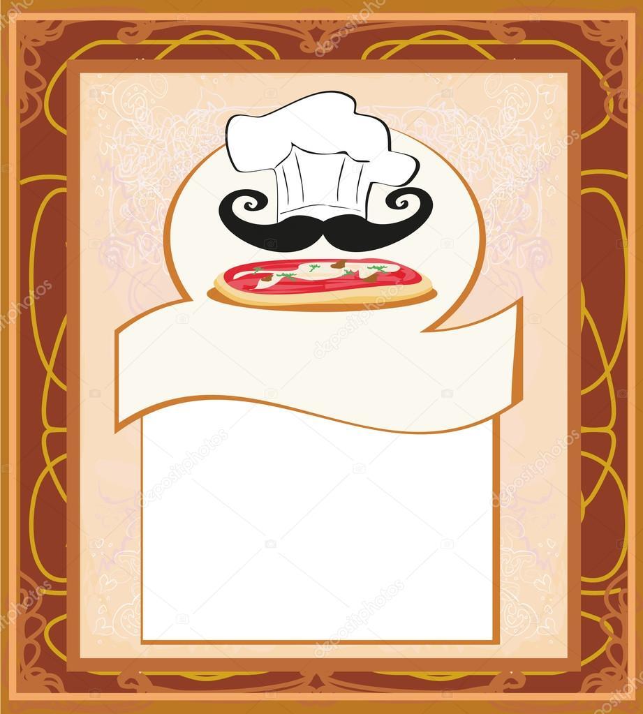plantilla de menú de pizza — Archivo Imágenes Vectoriales ...