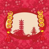 Střední-festival podzimu pro čínský Nový rok