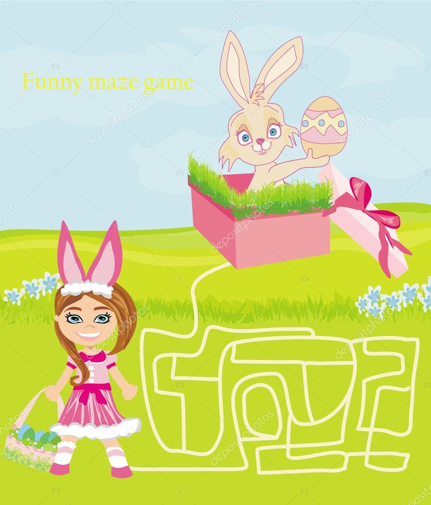 Easter Bunny GO FISH Card Game ~ a 3-in-1 Easter Game for