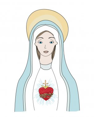 The Heart of Virgin Mary.