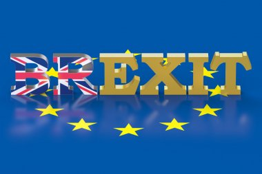 Brexit referendum concept in the Great Britain