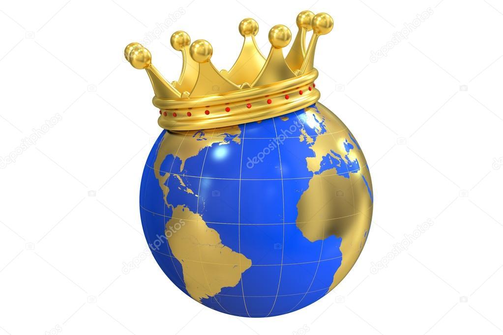 Корона на глобусе картинки