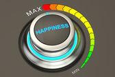 vysoká úroveň štěstí konceptu, vykreslování 3d objektů
