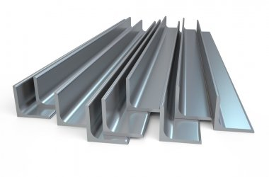 Rolled metal L-bar, angle