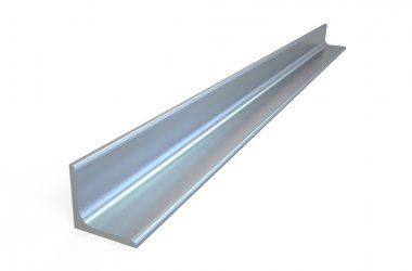 Rolled metal L-bar, angle steel