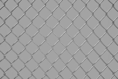 metallic  mesh on gray background, texture