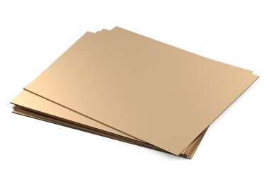 rolled metal, bronze sheets