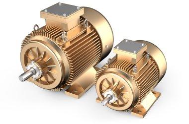 Bronze industrial electric motors