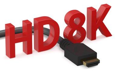 HD 8K concept