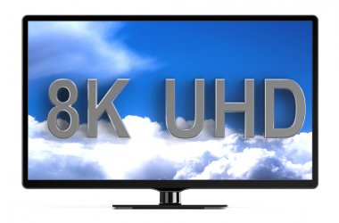 television set with 8K UHD