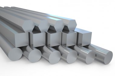steel  hexagon and round bars and square rods