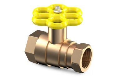 yellow valve