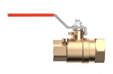 Red coupling Ball Valve