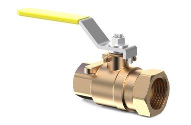 yellow ball valve