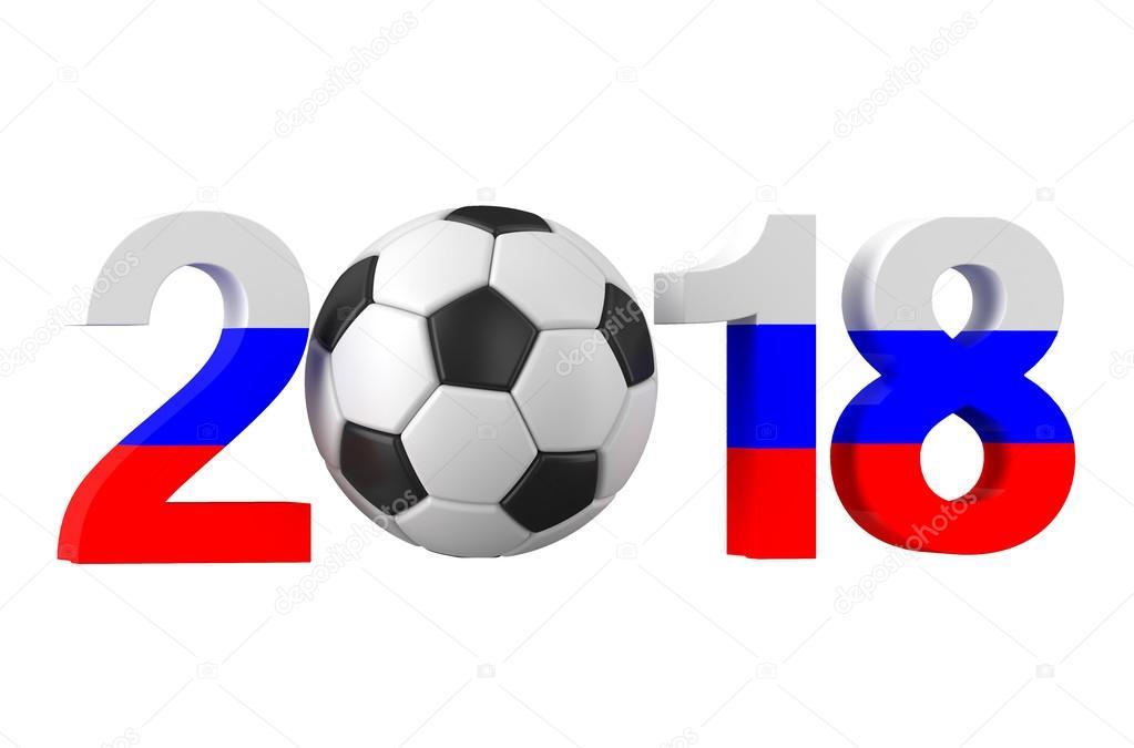 Soccer Championship 2018 In Russia Stock Photo